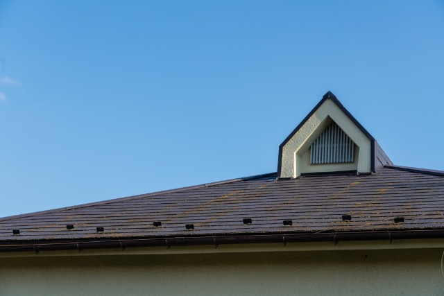 〈屋根〉変色