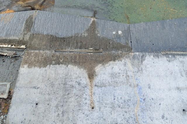 〈屋上〉雨漏り