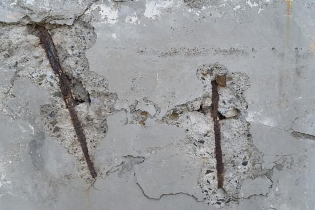 〈外壁〉鉄筋露出
