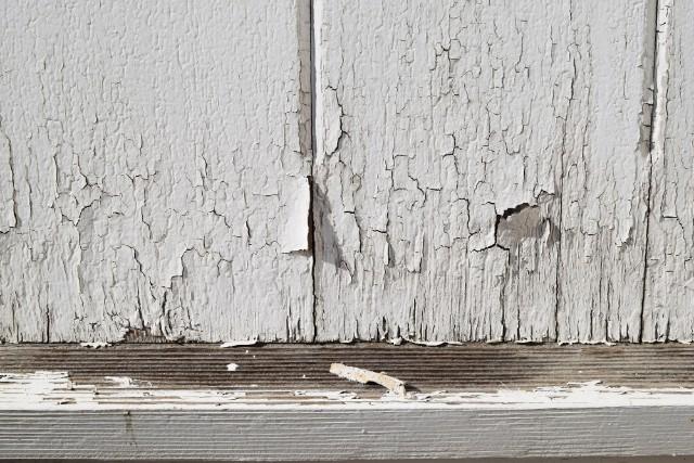 〈木部〉塗装のはがれ