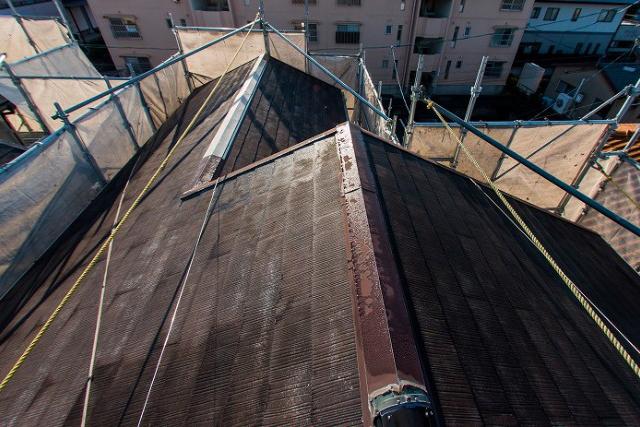 サビ/屋根